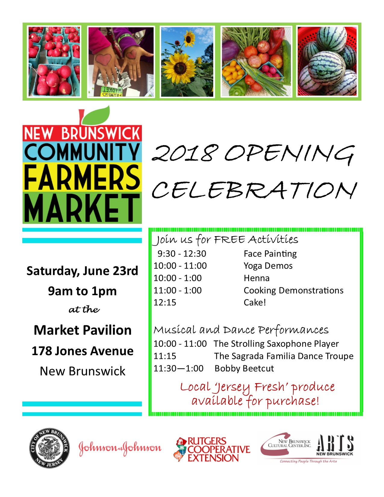 Market Opening Day Flyer